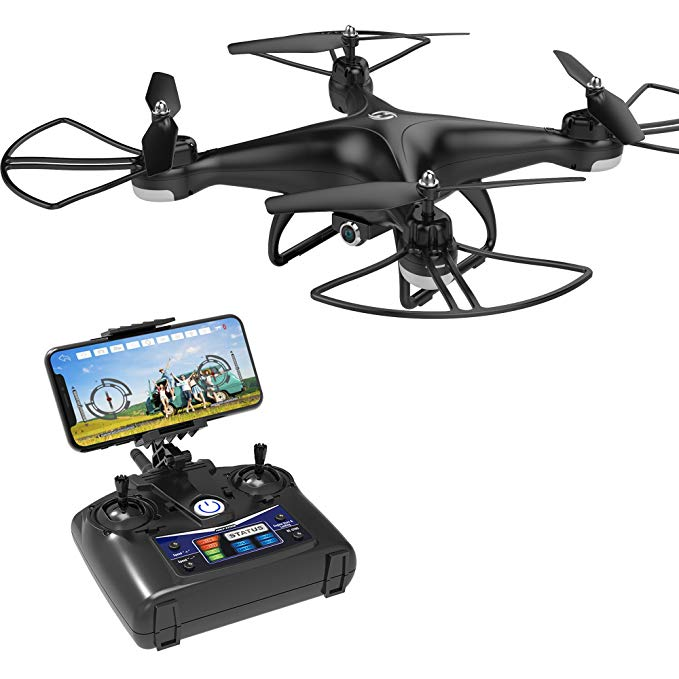 Holy Stone HS110D FPV RC Drone with 720P HD Camera