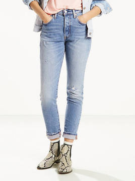 Levi's 501 Stretch Skinny Jeans - Women's
