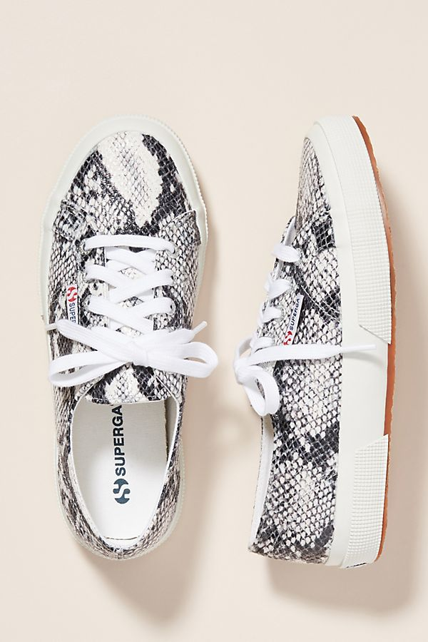 SNAKE PRINT SHOES -