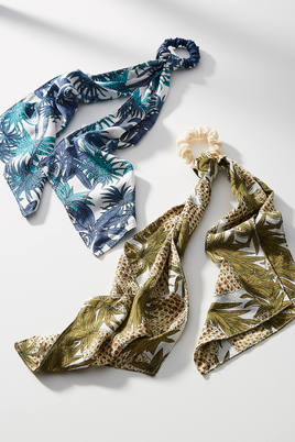 Pineapple Hair Scarf Set by: Anthropologie