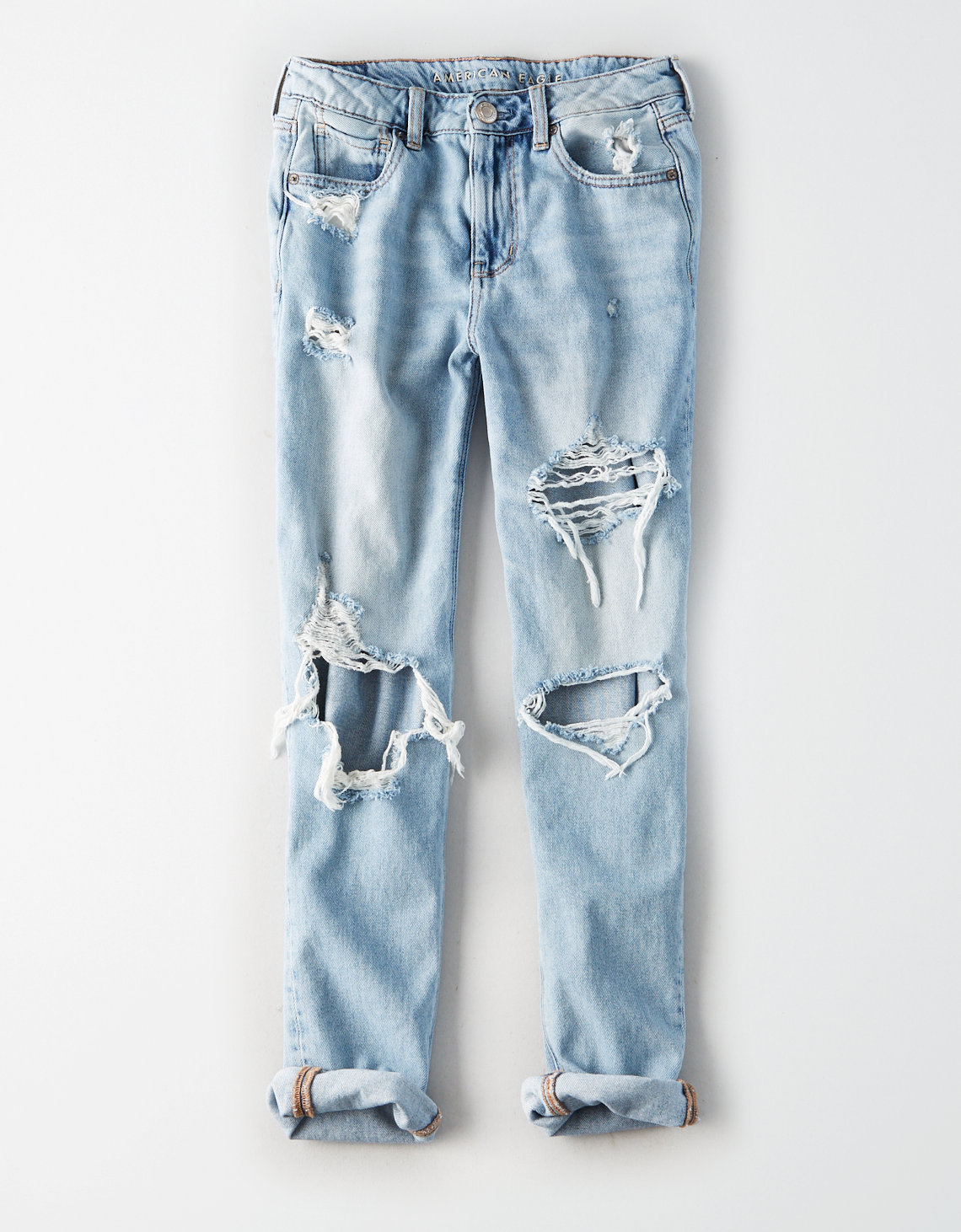 AMERICAN EAGLE AE HIGH-WAISTED TOMGIRL JEAN