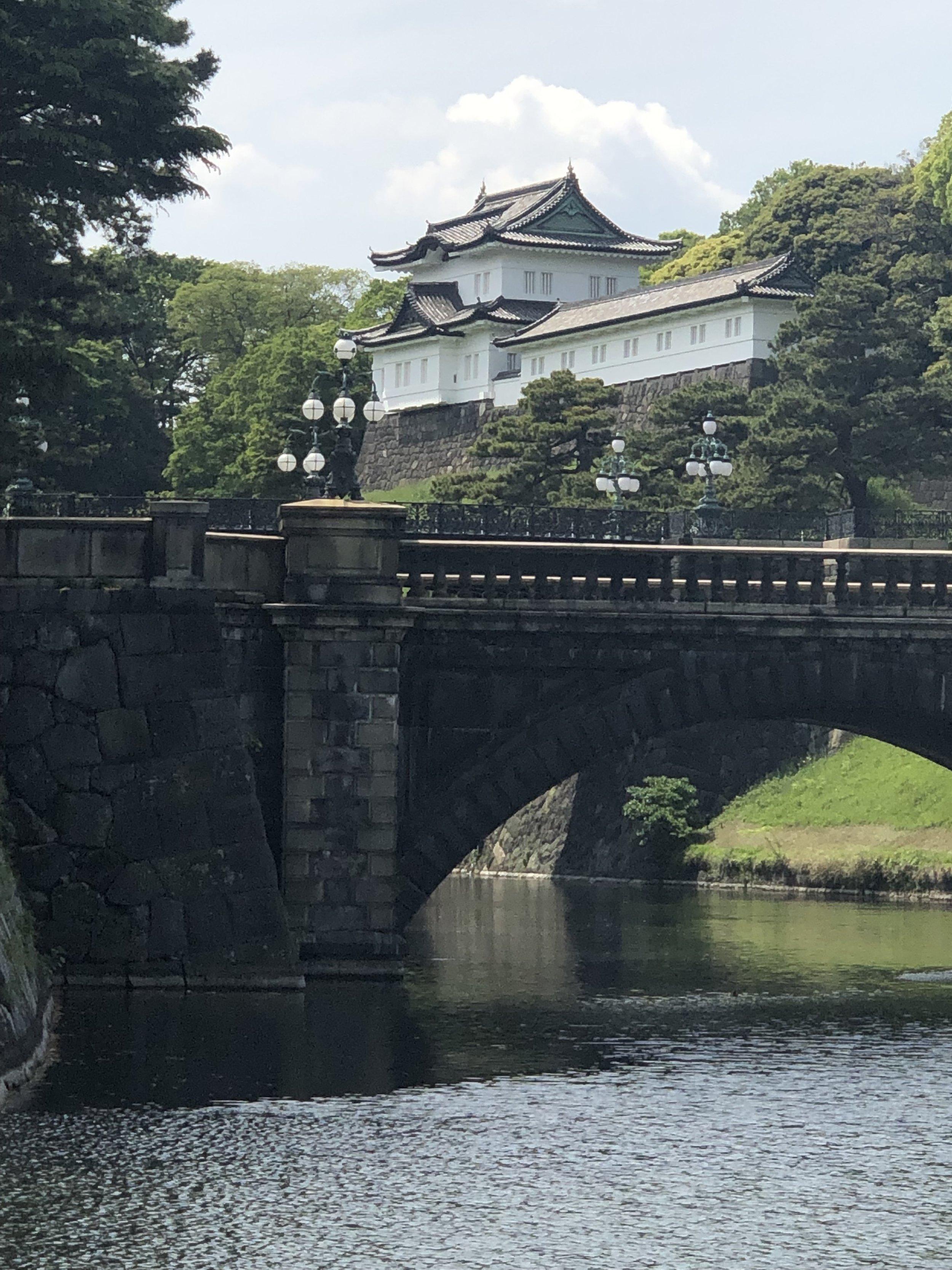 Imperial Palace and Nijubashi Bridge