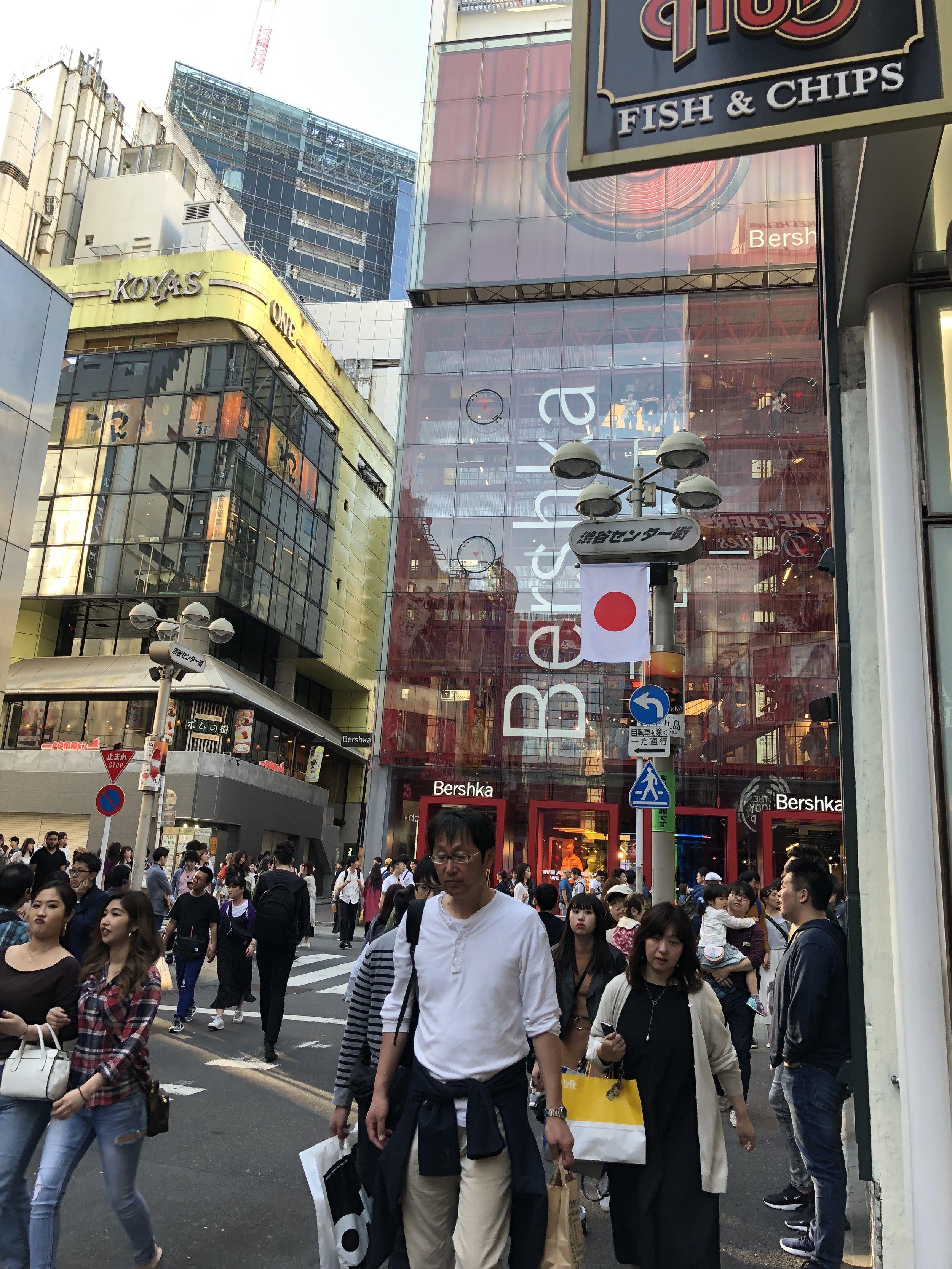 Shibuya Shopping
