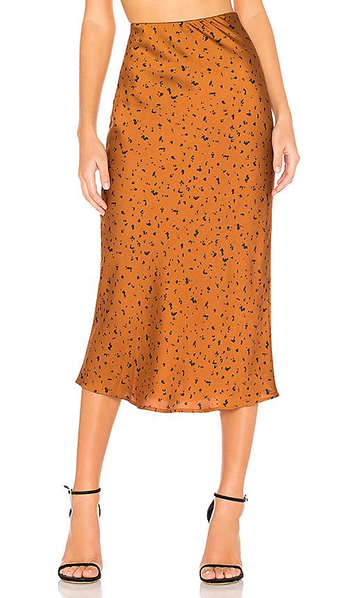Animal Midi Skirt -