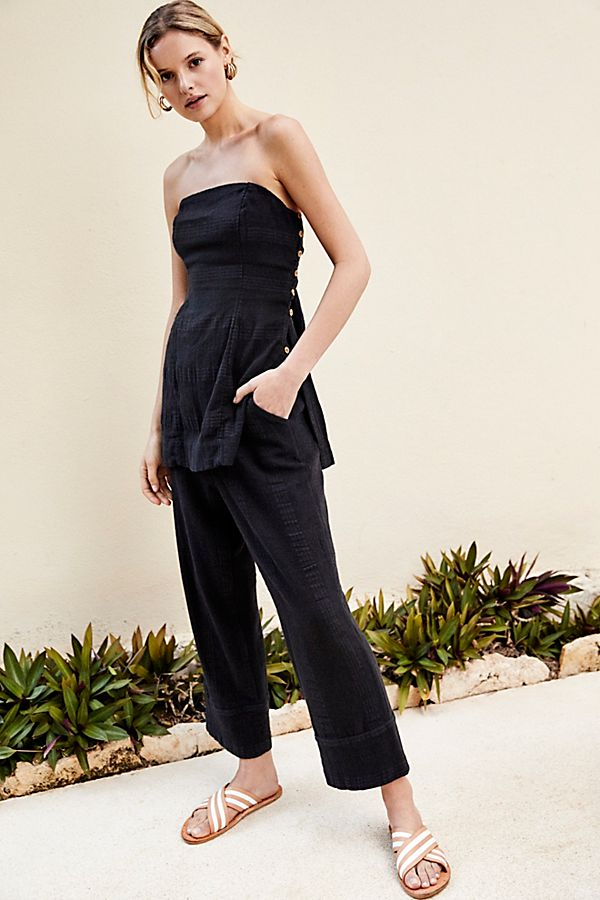 Strapless Top + Pant -