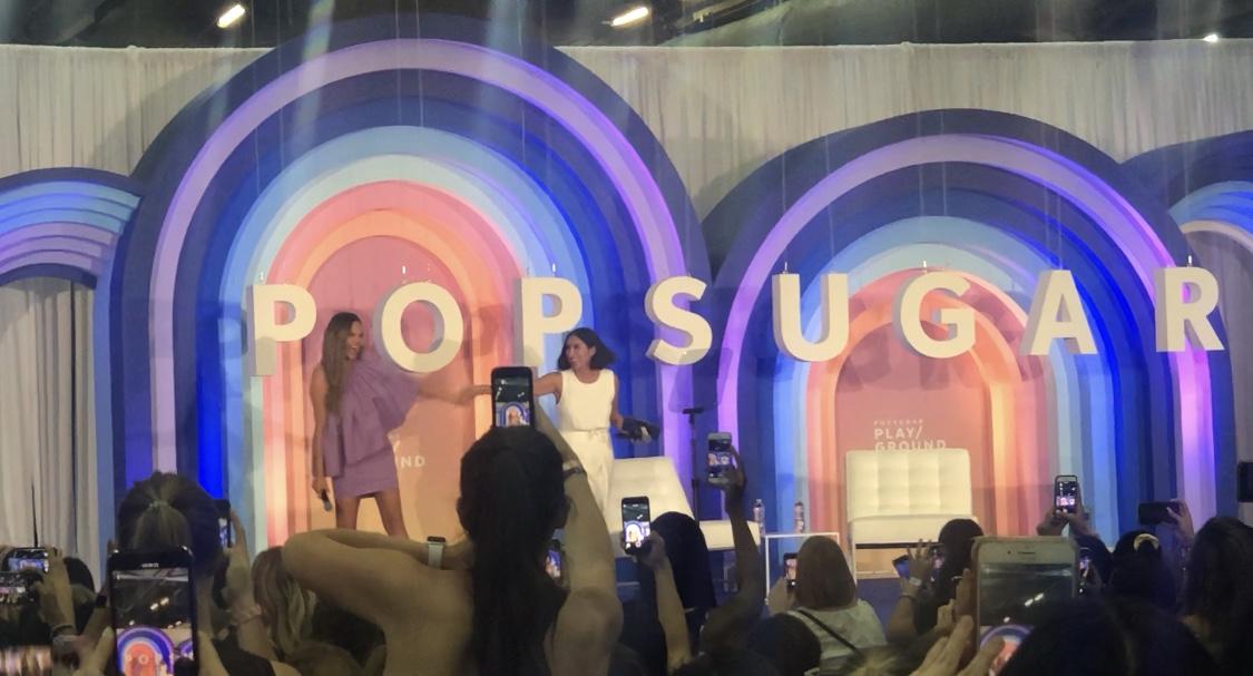 Chrissy Teigan + Jen Atkins take the main stage