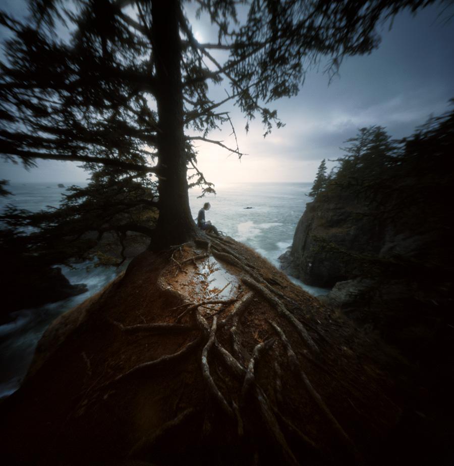 Samuel Boardman Scenic Corridor, Oregon coast. Reality So Subtle 6x6, Kodak Ektar 100.