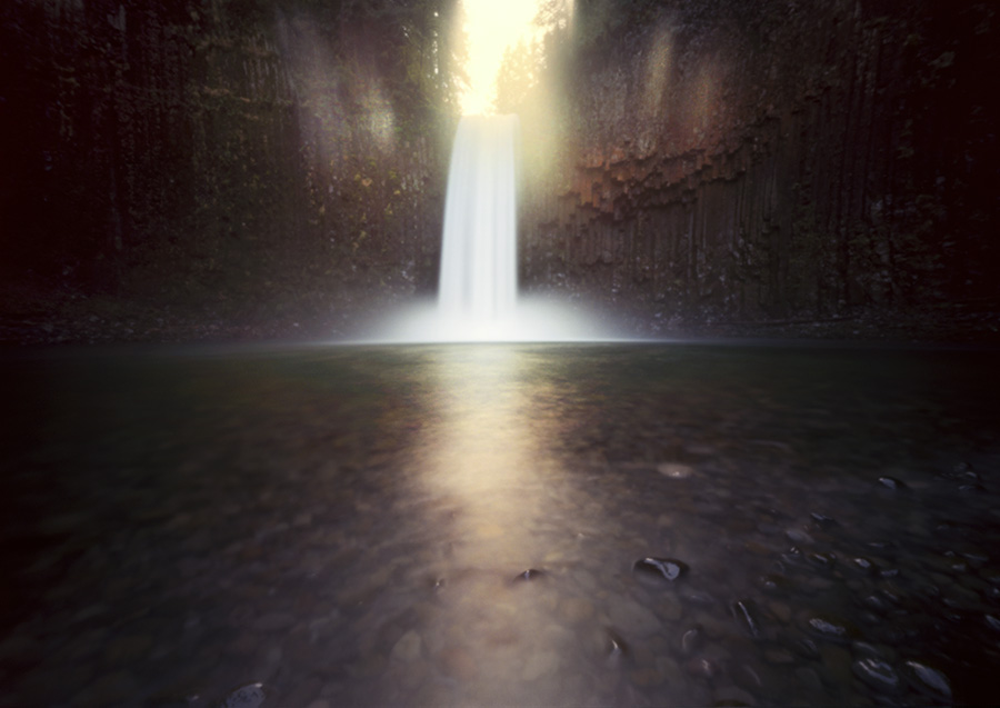 Abiqua Falls, Innova 6x9, 15 seconds