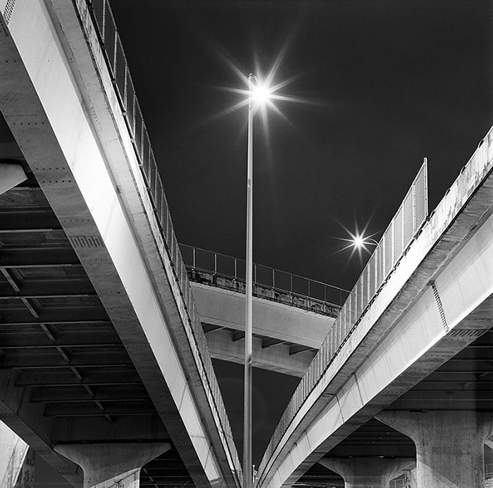 Fremont Bridge, Portland, Oregon. 15 seconds, f11, ISO 400