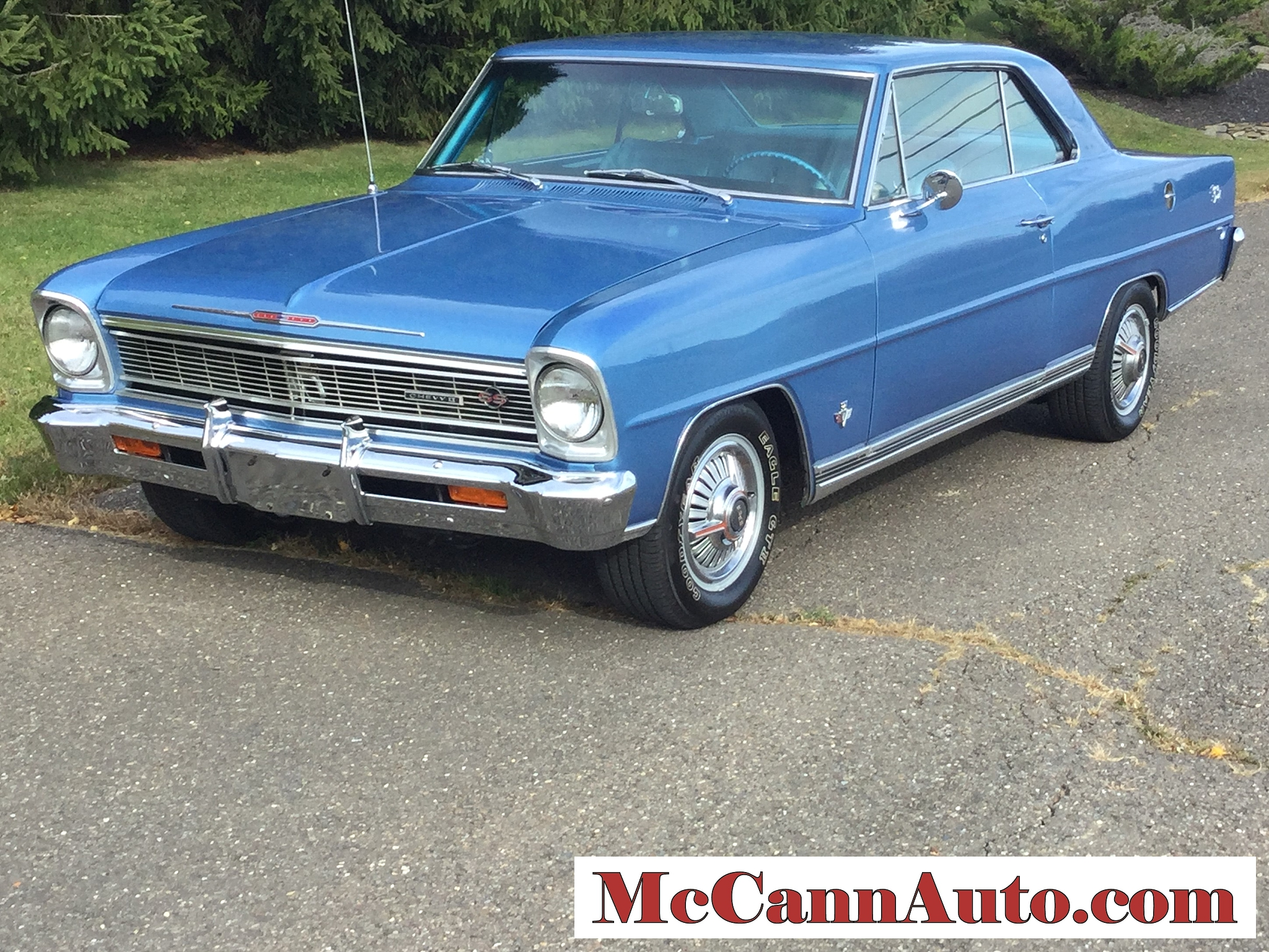 1966 Chevrolet Nova SS in Marina Blue