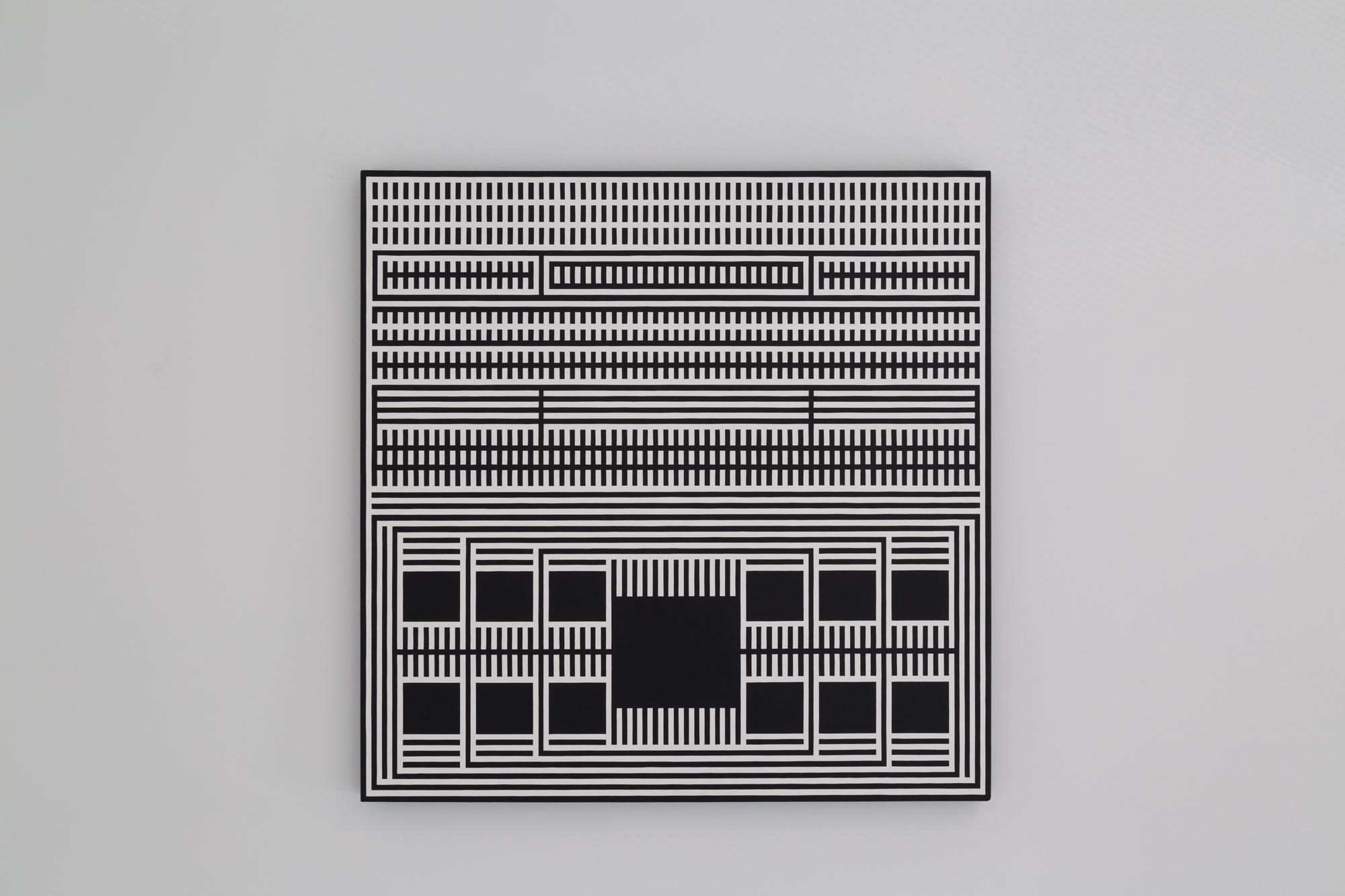 "Treasure Tickle , Scrimshawed Acrylic on Panel, 31"" x 31,"" 2011"