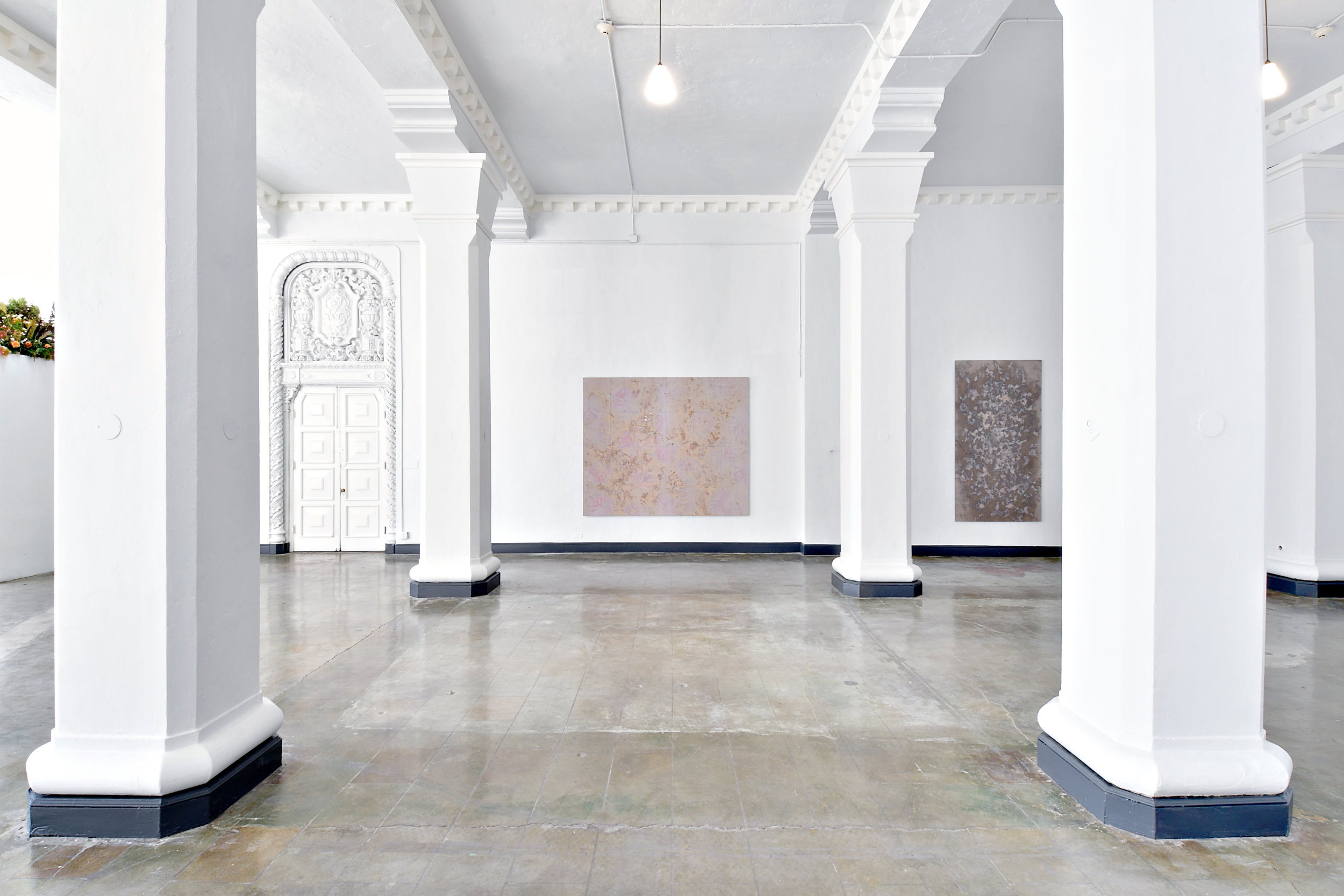 """Installation view of """" Somewhere I Have Traveled """" by Robert Canali, 2017"""