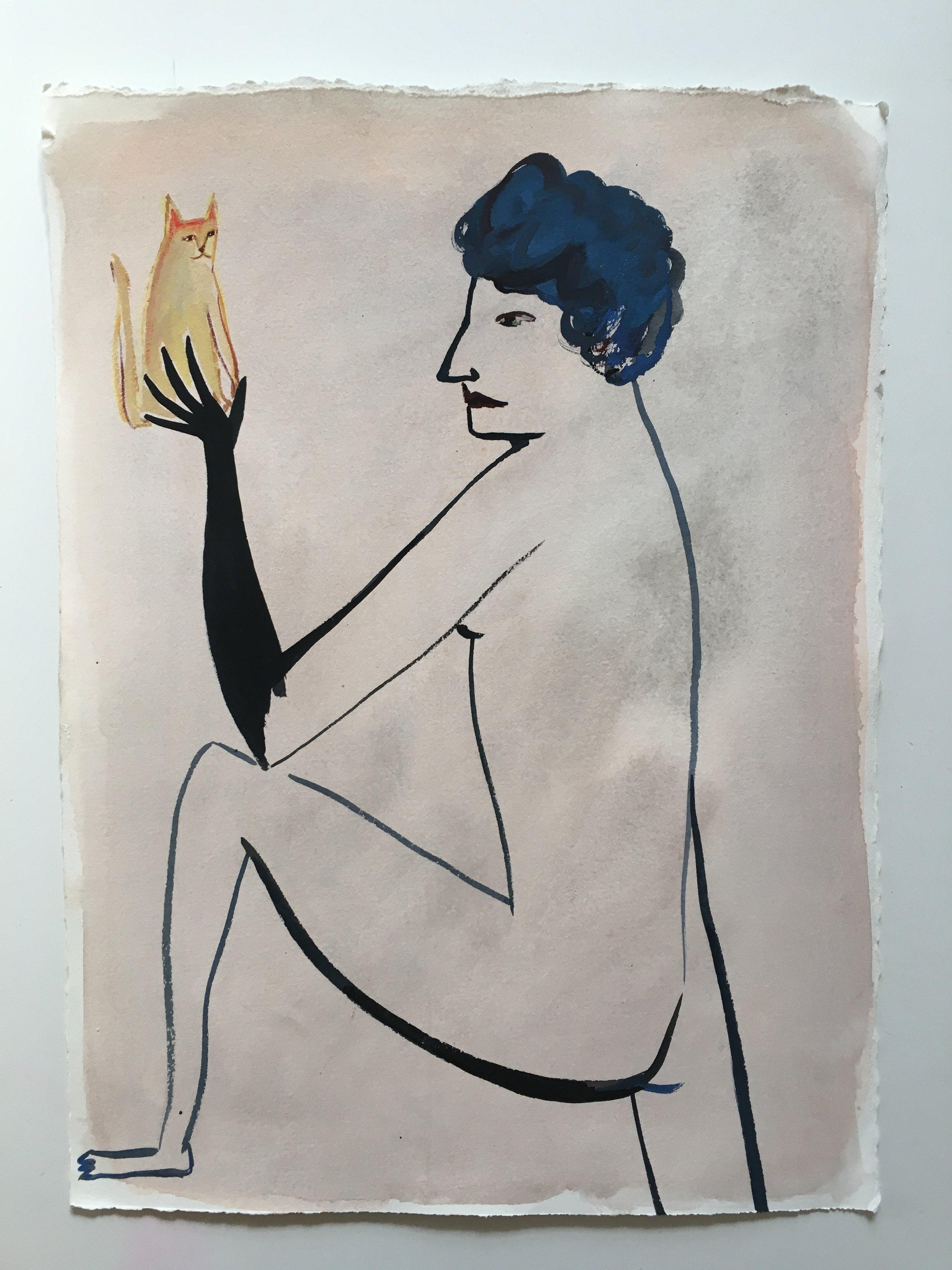 Eve Ackroyd - Balanced Cat