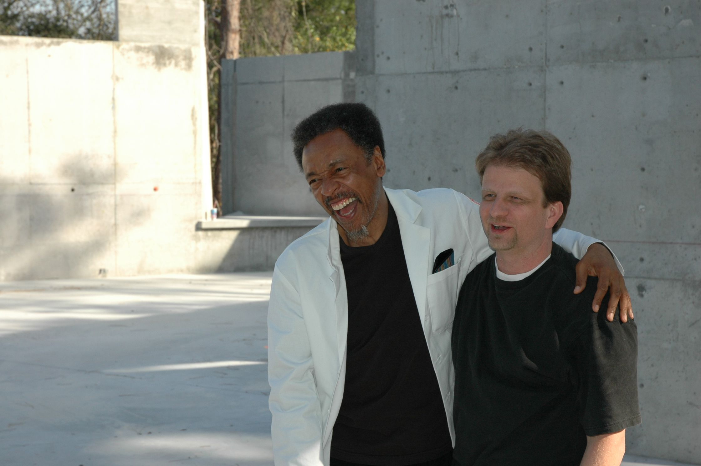 Hanging with Henry Threadgill... ACA 2005.