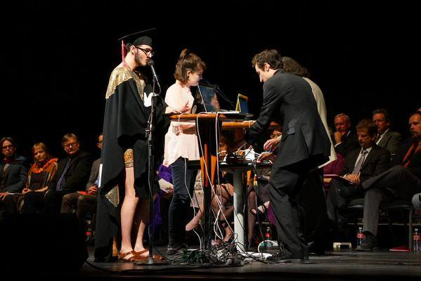 CLEE plays at Cornish commencement