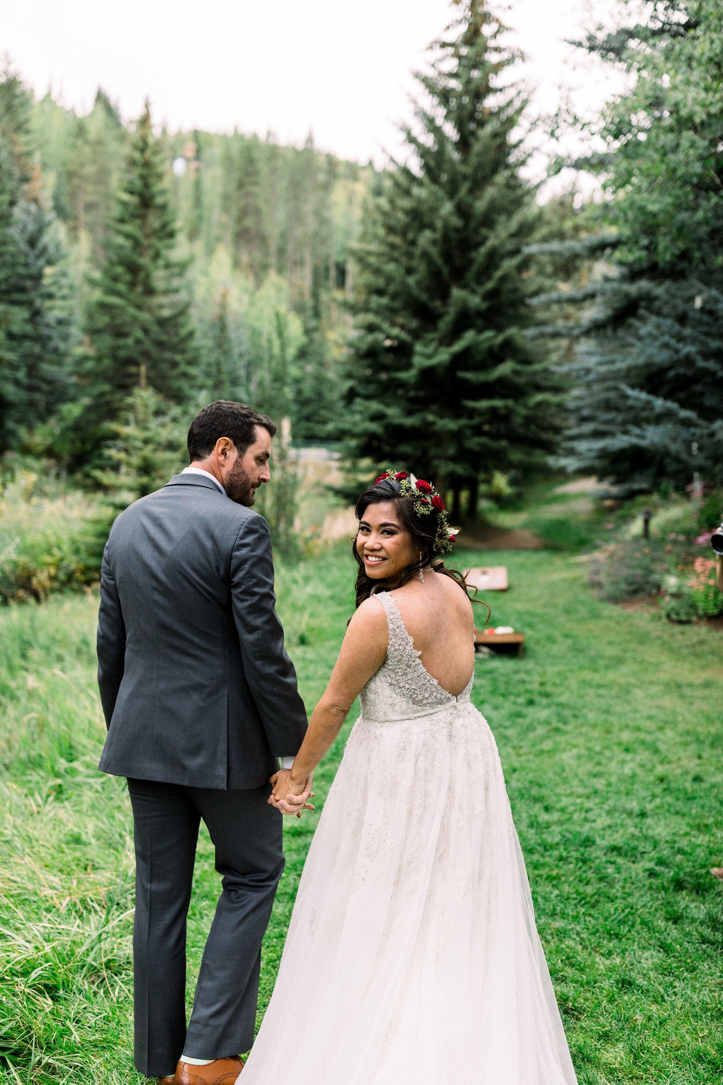 Vail Mountain Wedding