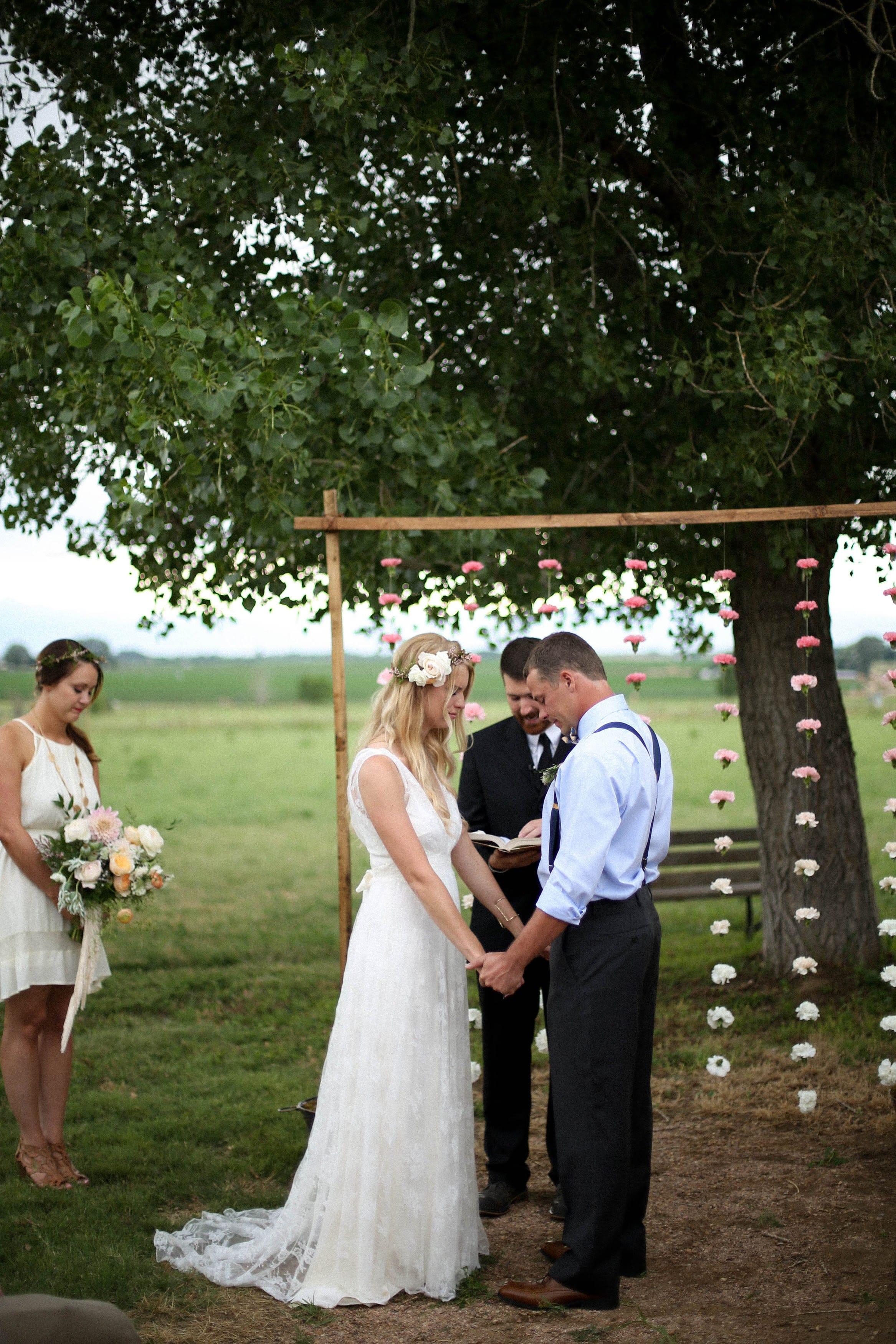Wedding Day Floral Arch