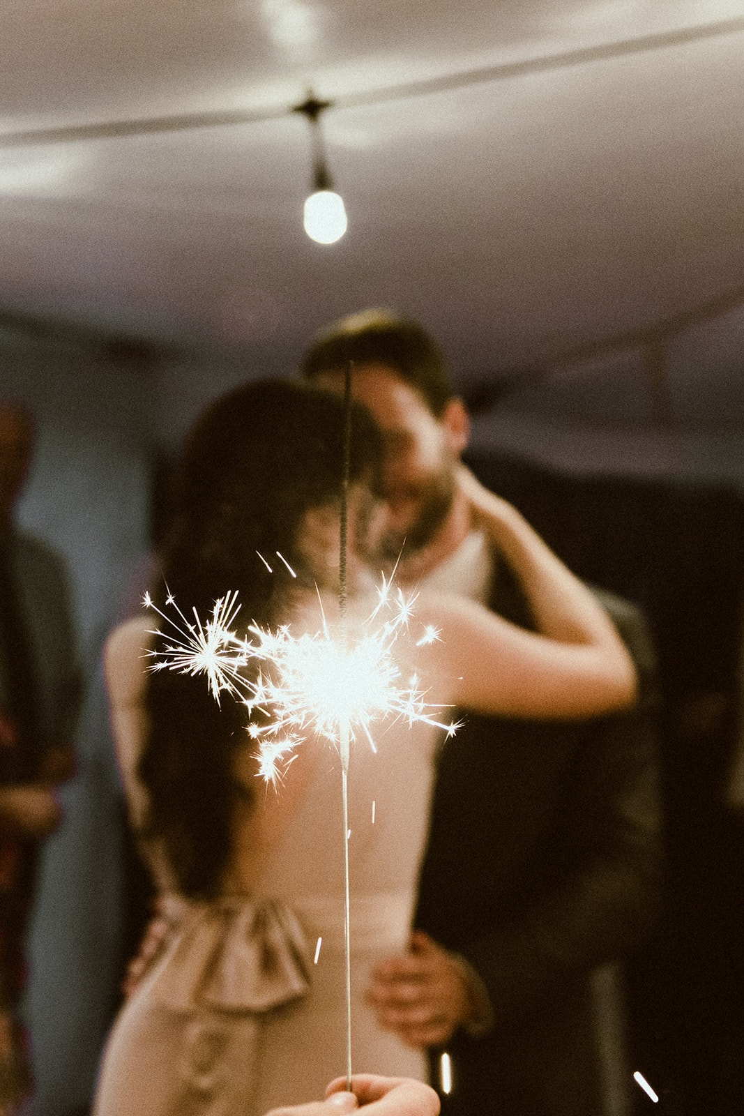 Sparkler+Wedding