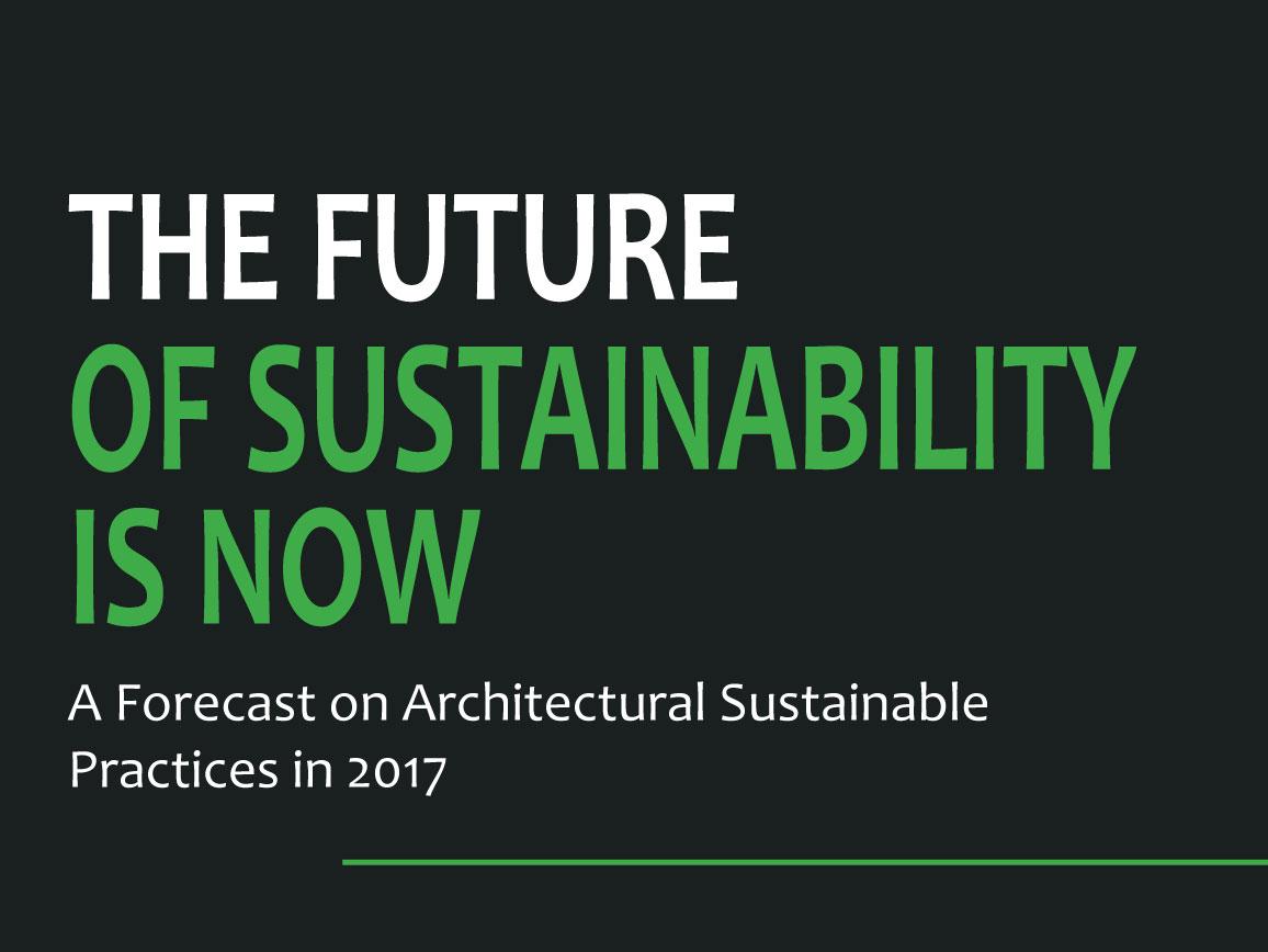 2017 Sustainability Forecast