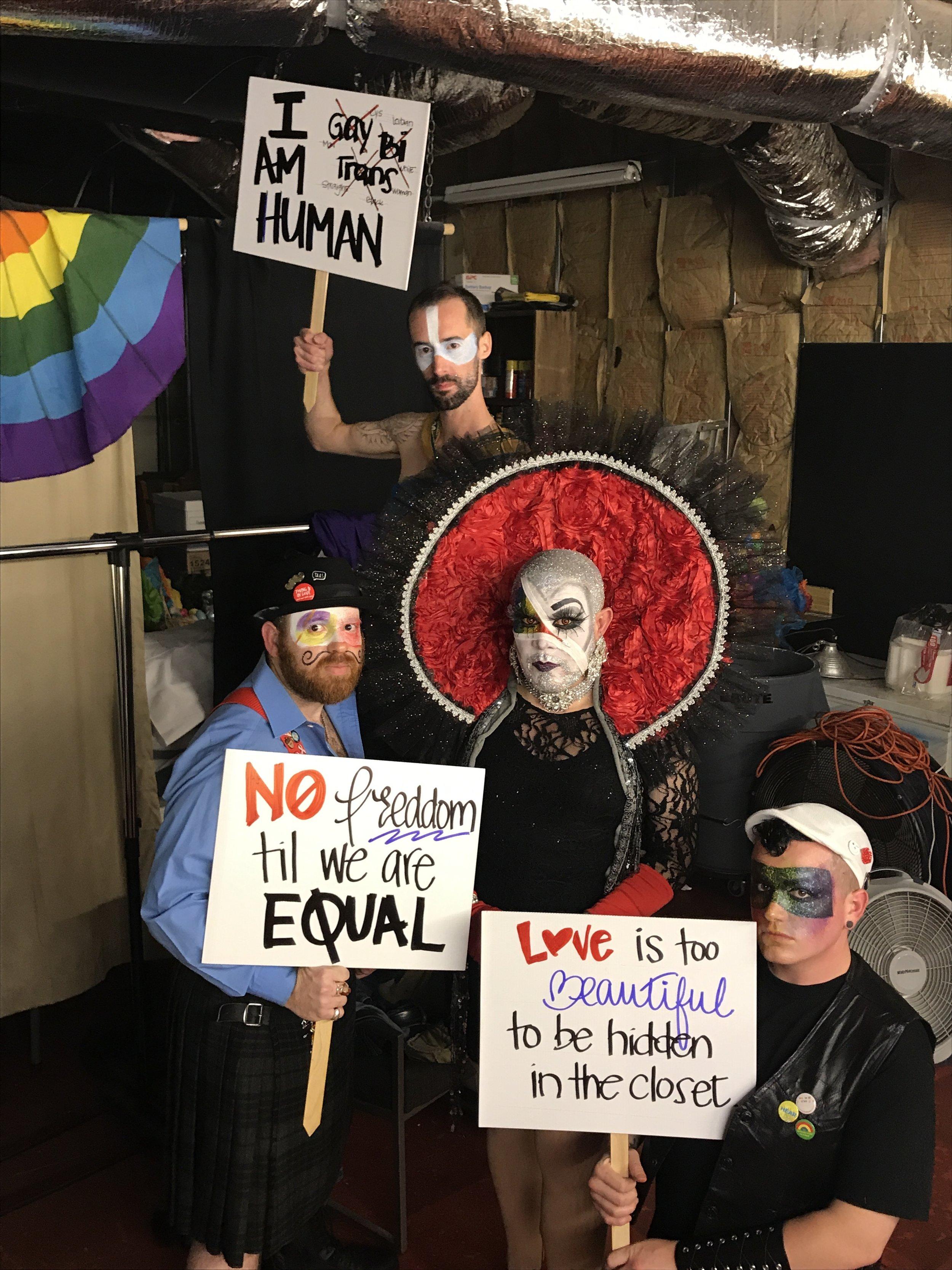 June 24, 2017 - Stonewall Commemoration Drag Show