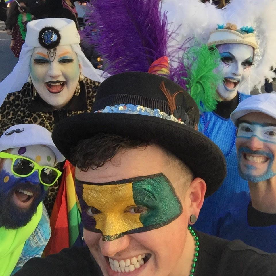 February 26, 2017 - Asheville's Mardi Gras Parade