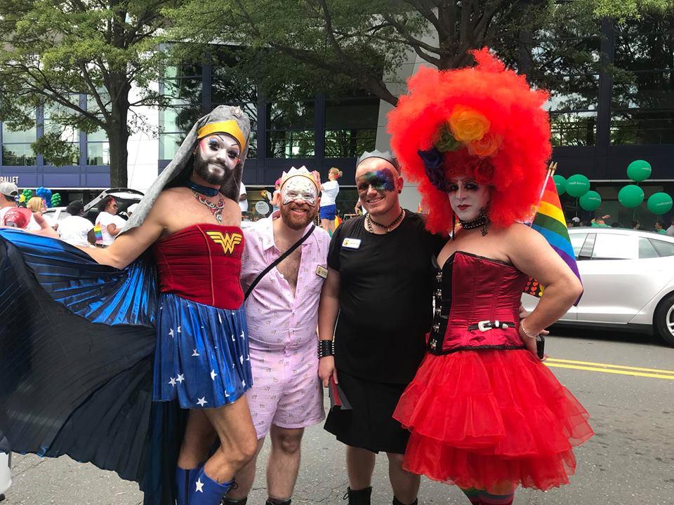 August 19, 2018 - Charlotte Pride Parade