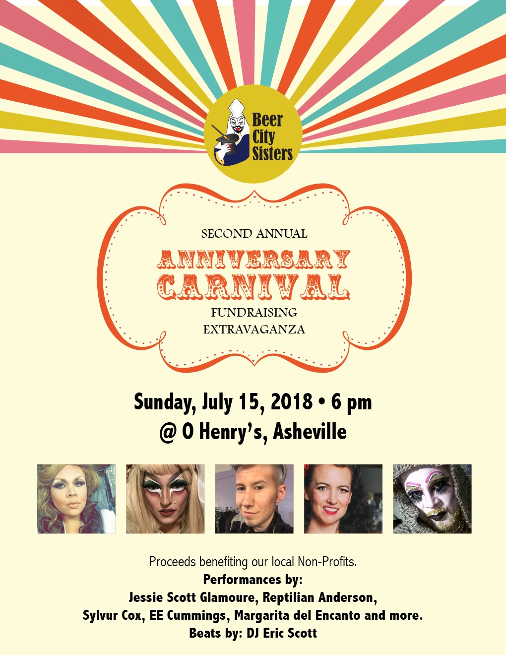 July 15, 2018 - 2nd Annual Anniversary Carnival Extravaganza