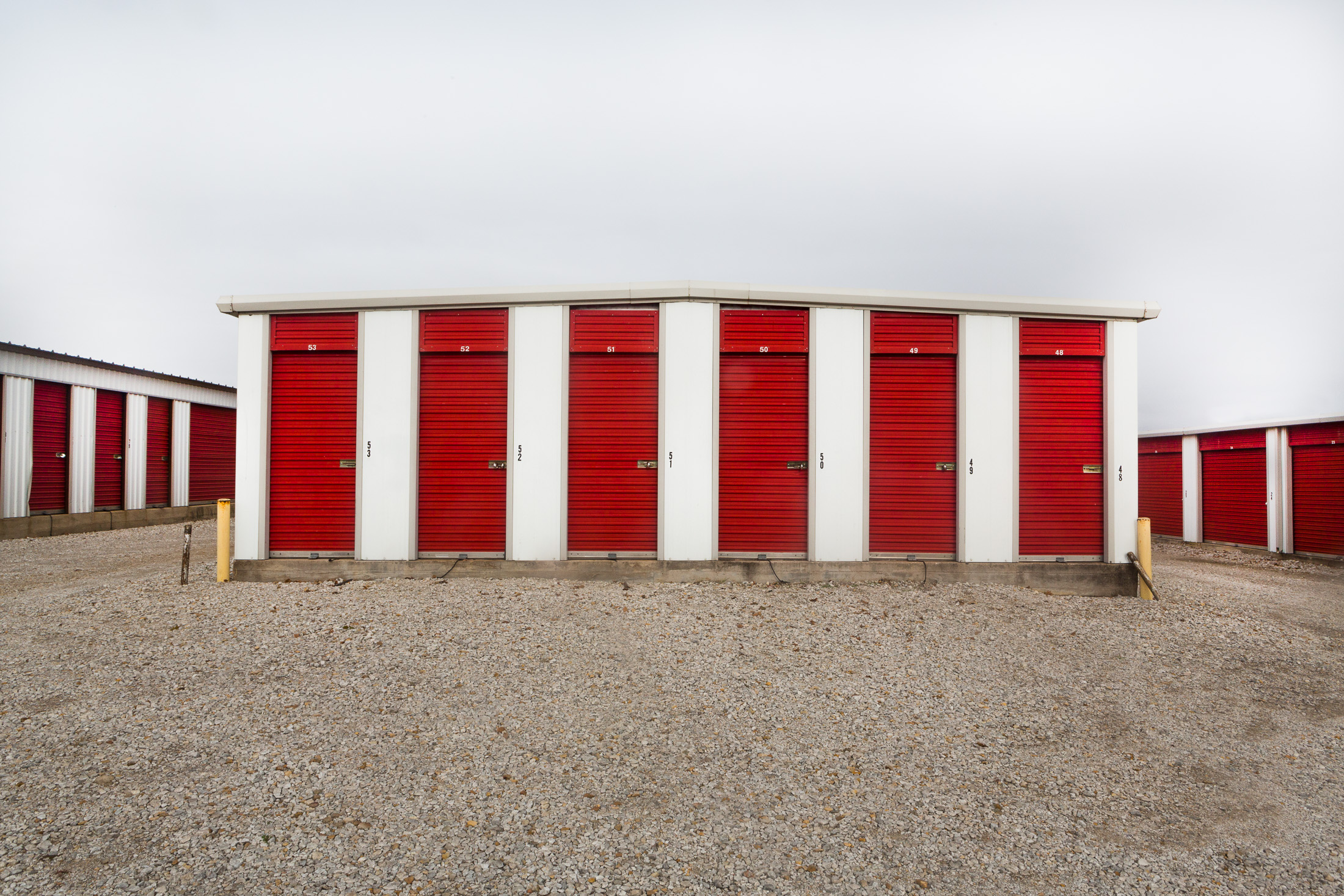 Untitled (Storage Units, Cisco, Texas) 2016