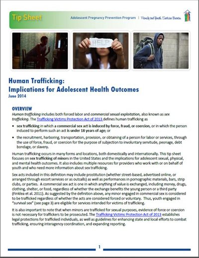 Click Here For Human Trafficking Facts