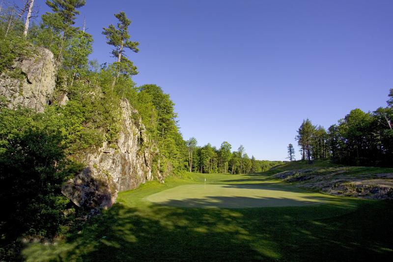 Greywalls / Hole 5 / Par 4 / 312 yards