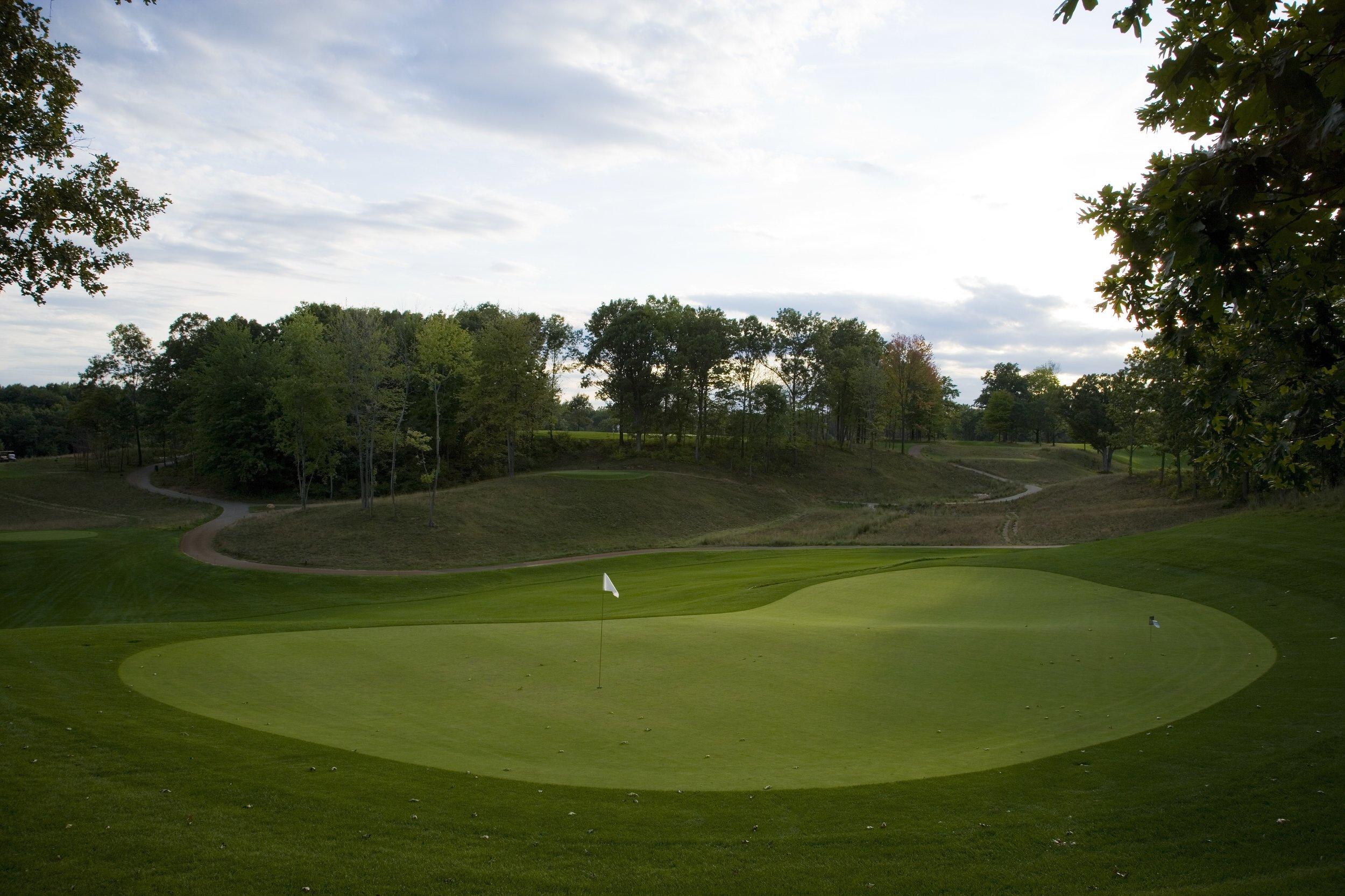 Mines Golf Course / Hole 11