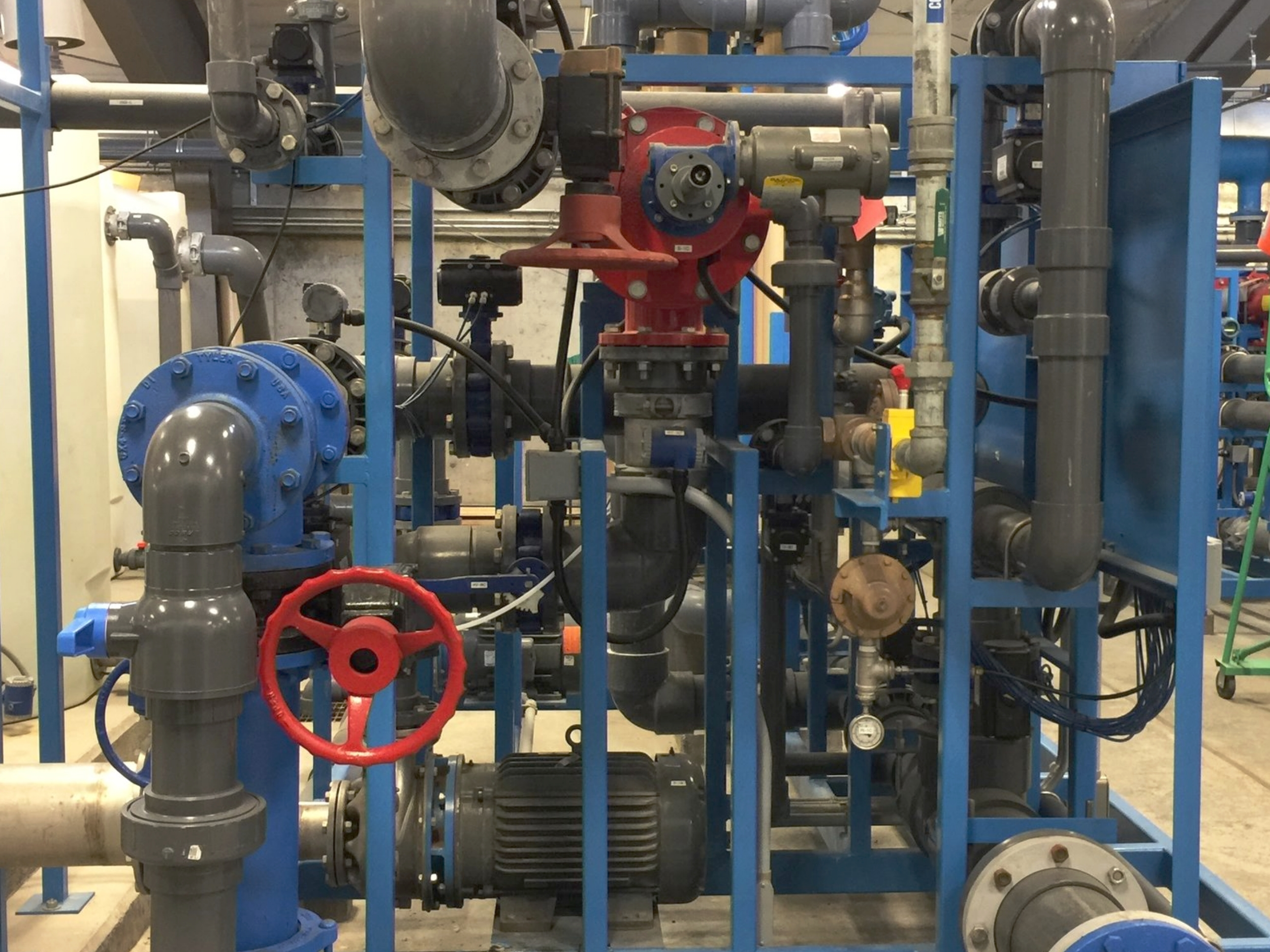 Treatment Skid Manifold (Click photo to learn more!)