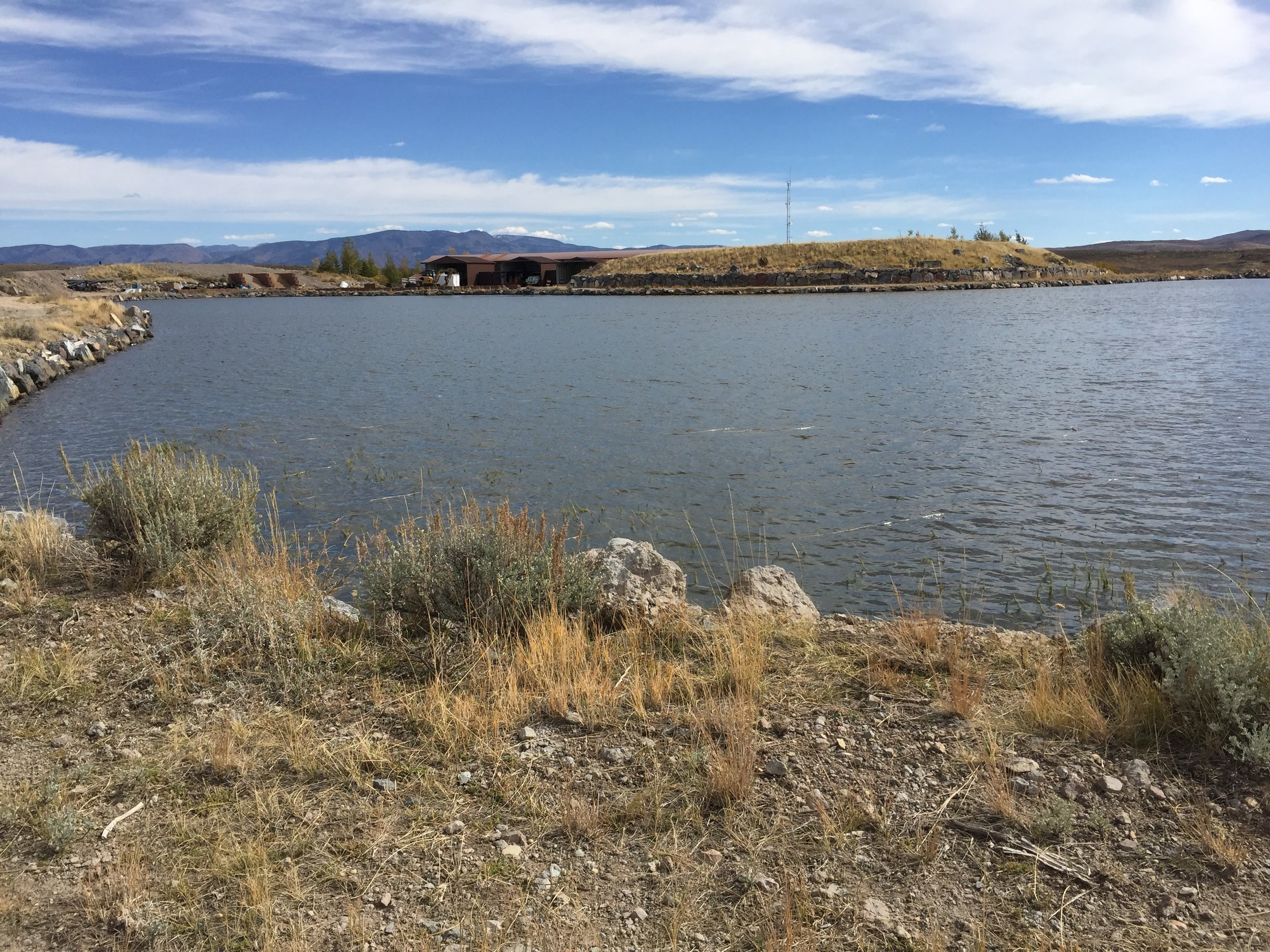 1. Raw Water Plant Feed Pond - Pumped from Rockport Reservoir