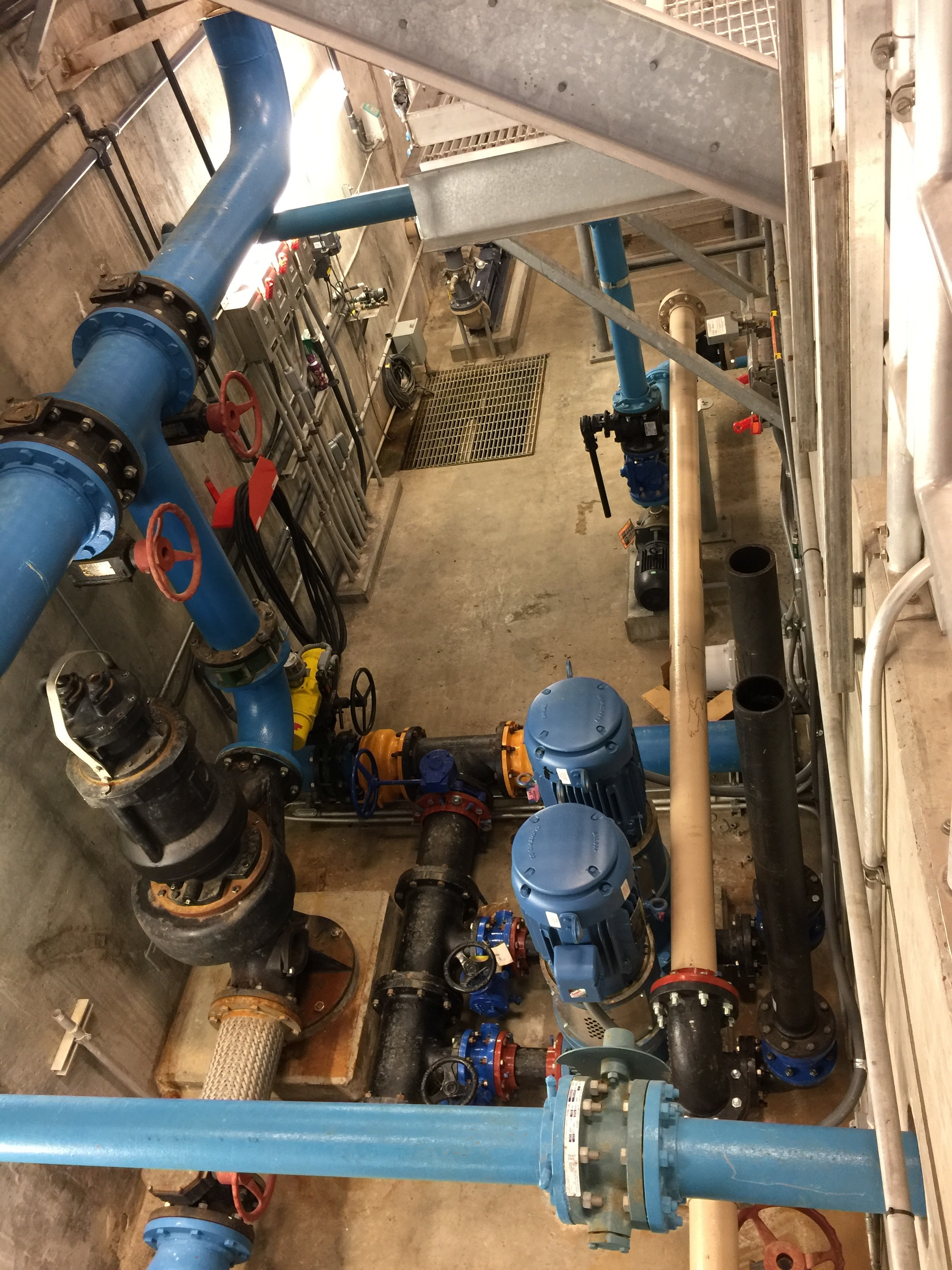 4. Raw Water Irrigation Pumps and Pipe Gallery