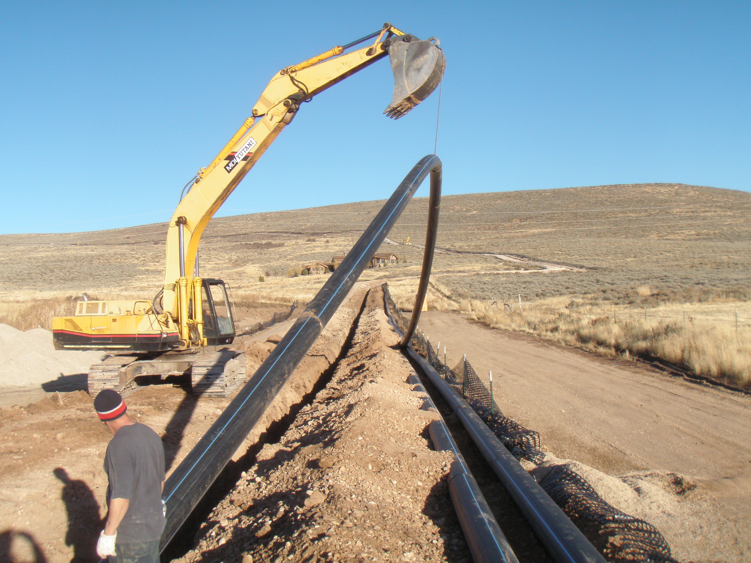 The Signal Hill to Basin and Park City Water Transmission Pipeline (Click photo to learn more!)