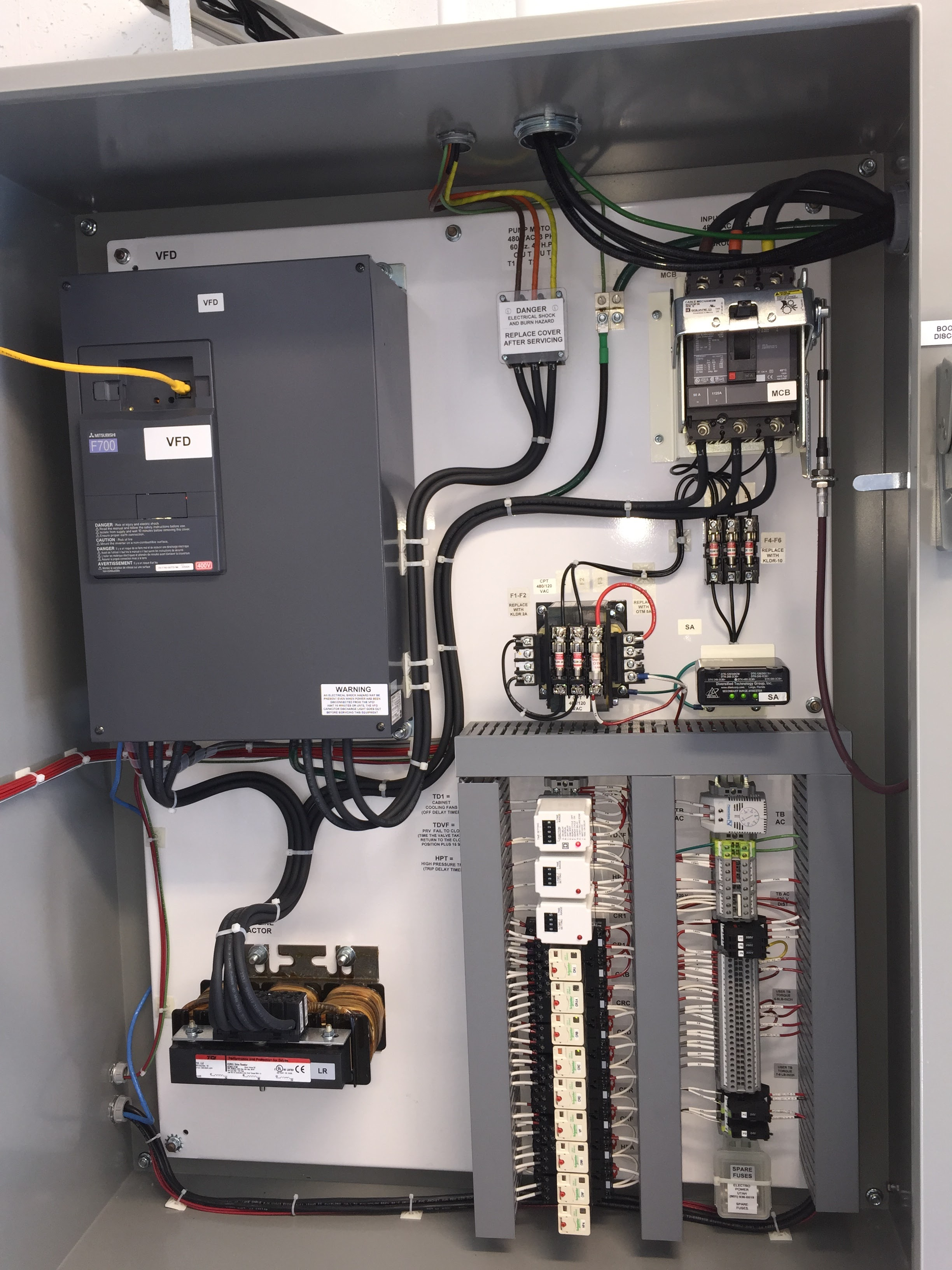 Variable Frequency Drive (VFD) used on a Pumping System to Improve Energy Efficiency