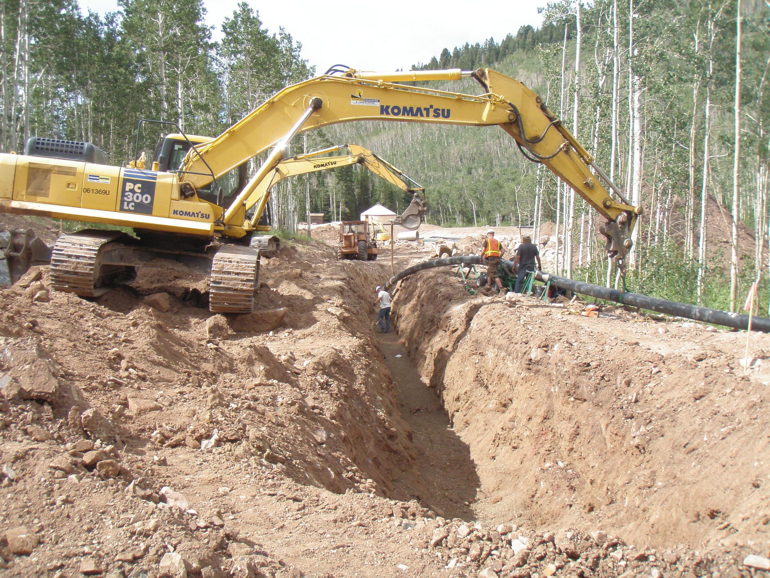 More Colony pipeline work.