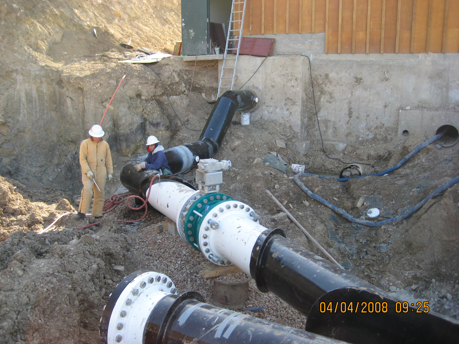 Lost Canyon Pump Station expansion project in 2008 to enable capacity to feed Park City.