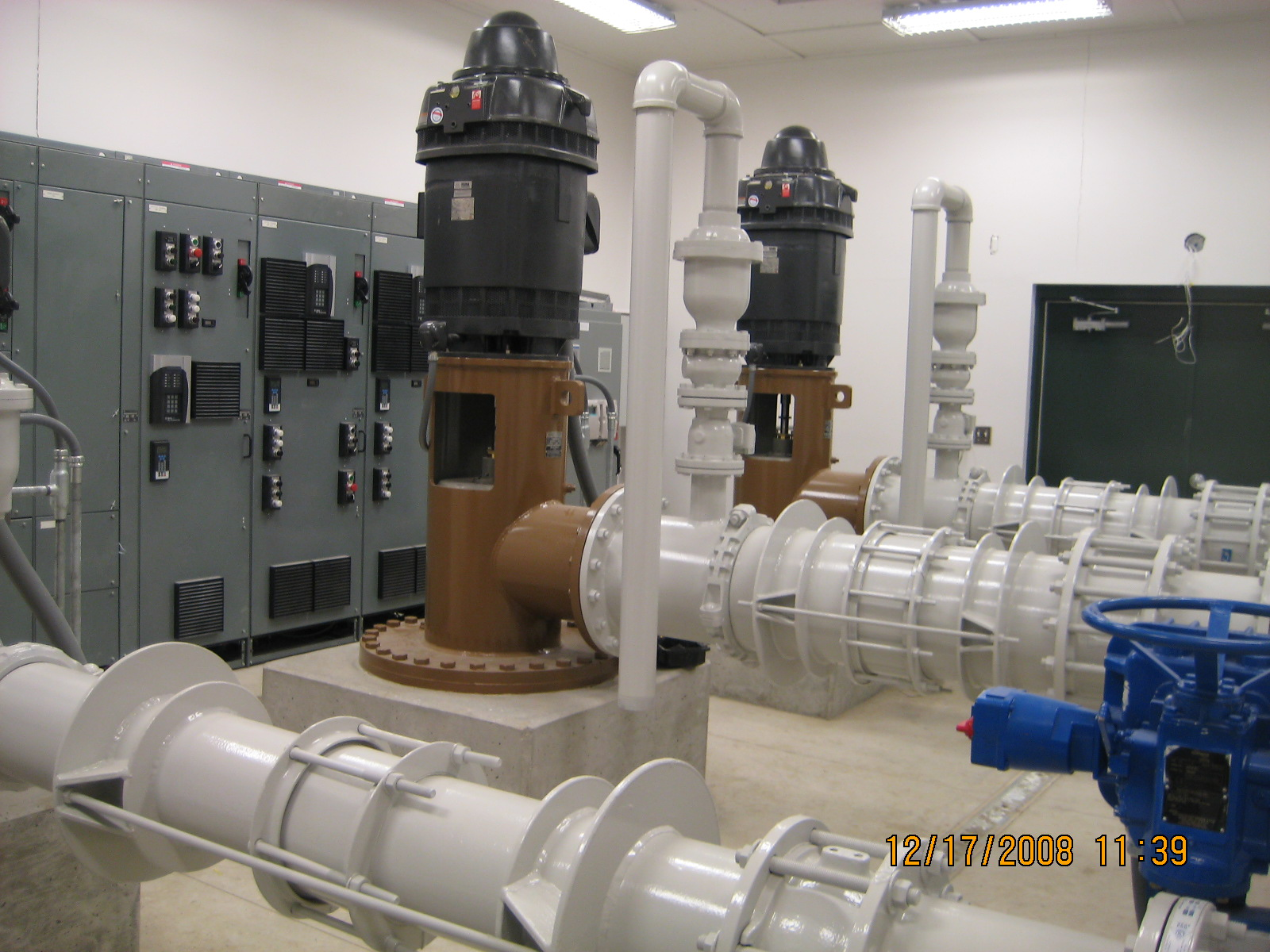 Rockport Booster Pump Station - used to feed water to the Lost Canyon Booster Pumping Facility.