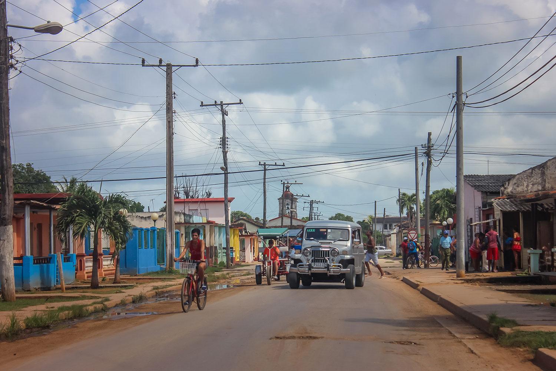 Cardenas City Street Cuba