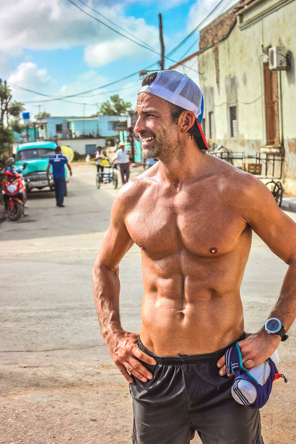 Runner Ryan Young in Cuba