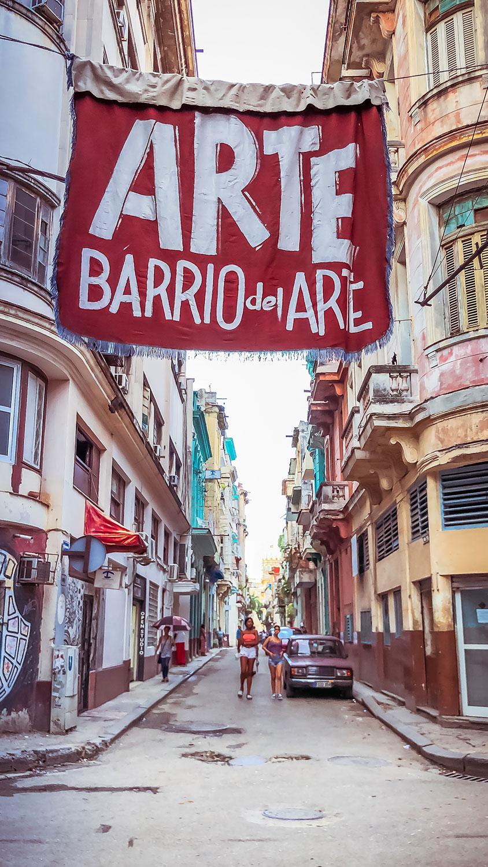 Havana Art Bario Cuba