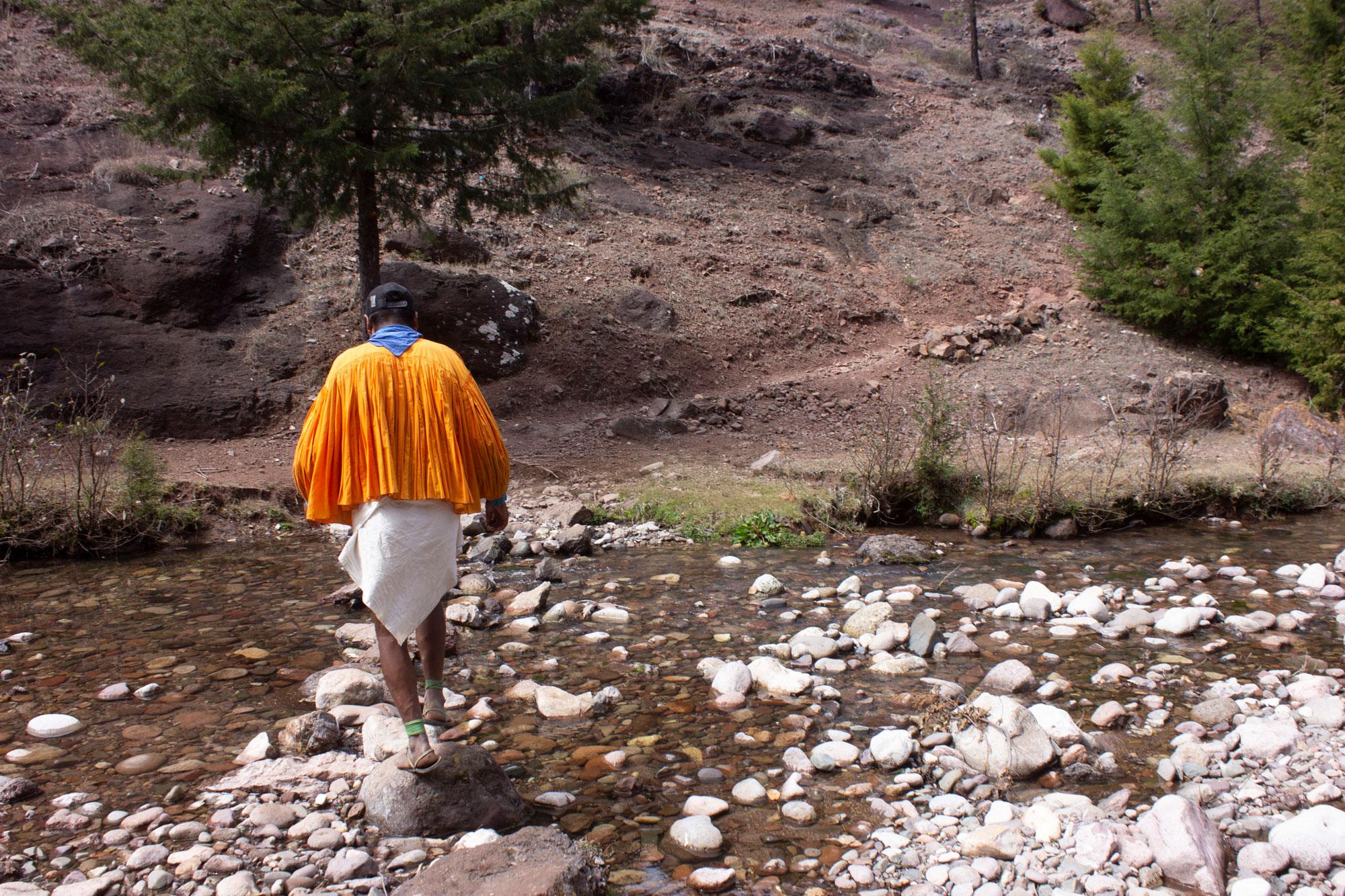Manuel Luna on Hike
