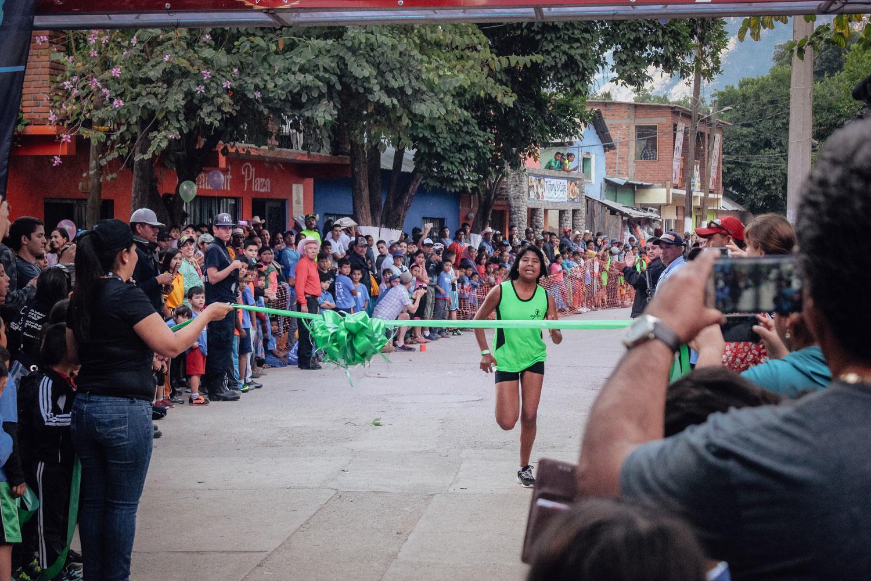 A Raramuri Kids Run Winner
