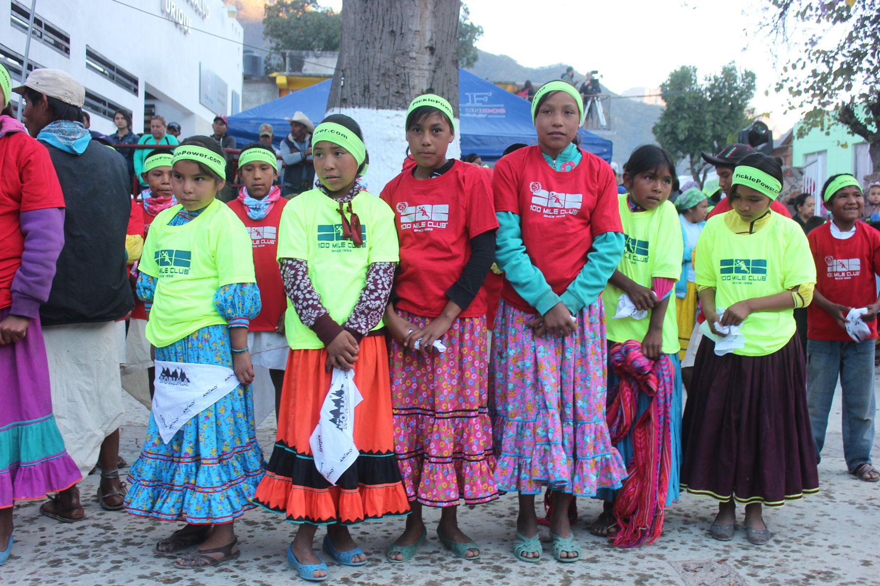 Raramuri Girls in Dresses