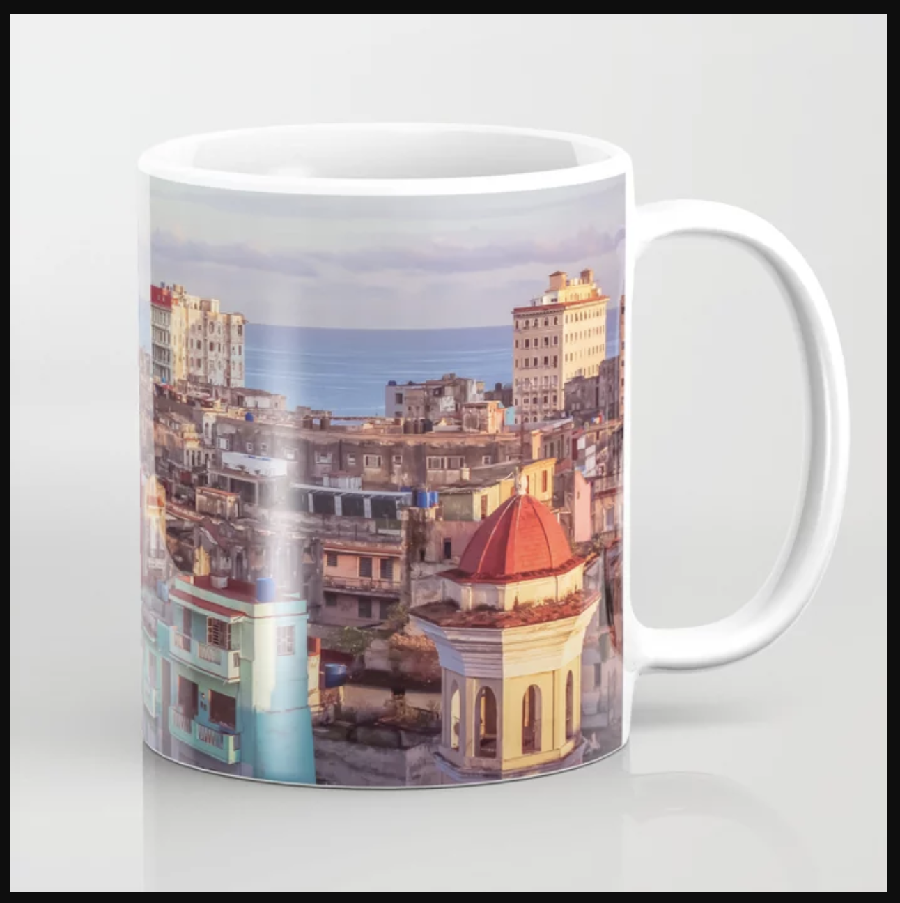 Old Havana at Morning Coffee Mug, Prints and More by    Ryyoung