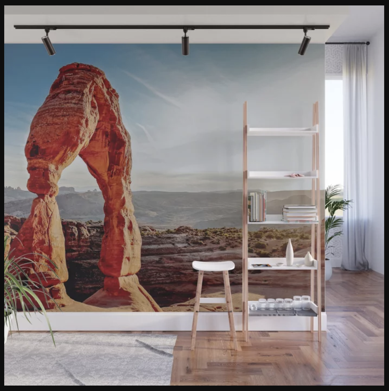 Delicate Arch, Arches National Park at Afternoon Wall Mural, Prints and More by    Ryyoung