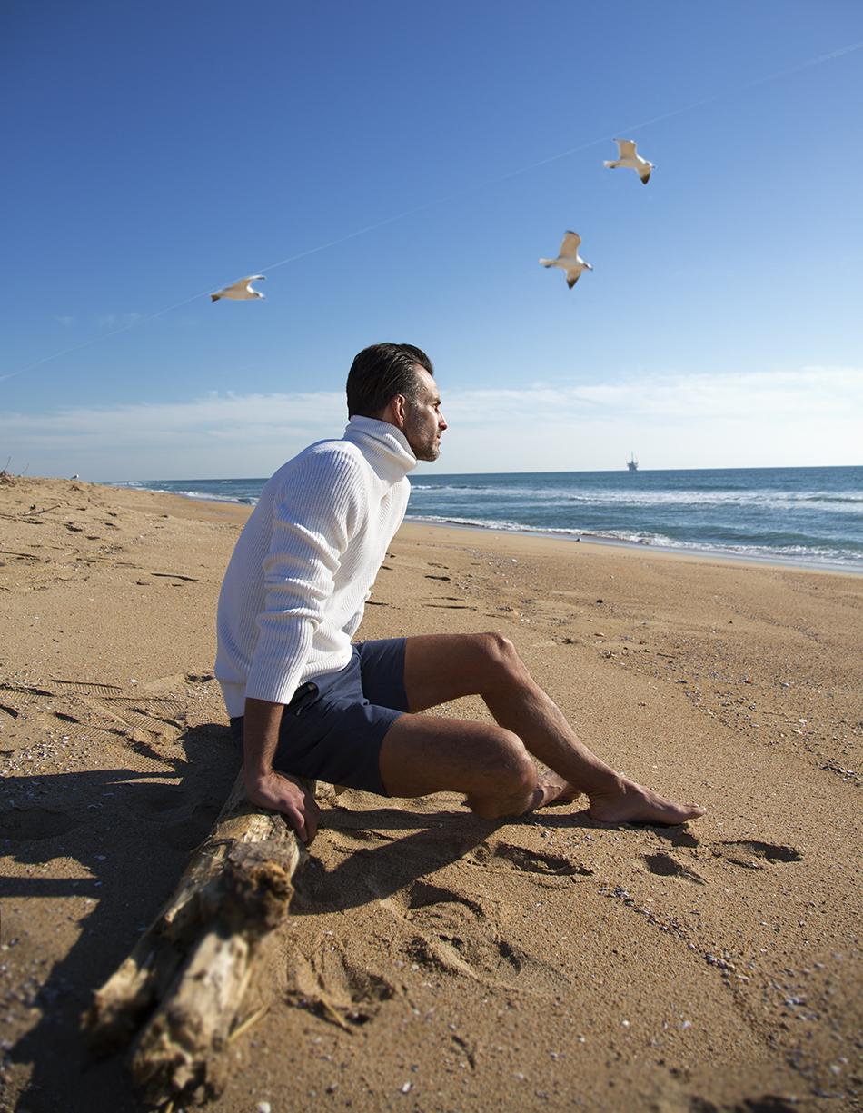 Turtleneck: La Fileria For D'aniello Shorts: Theory