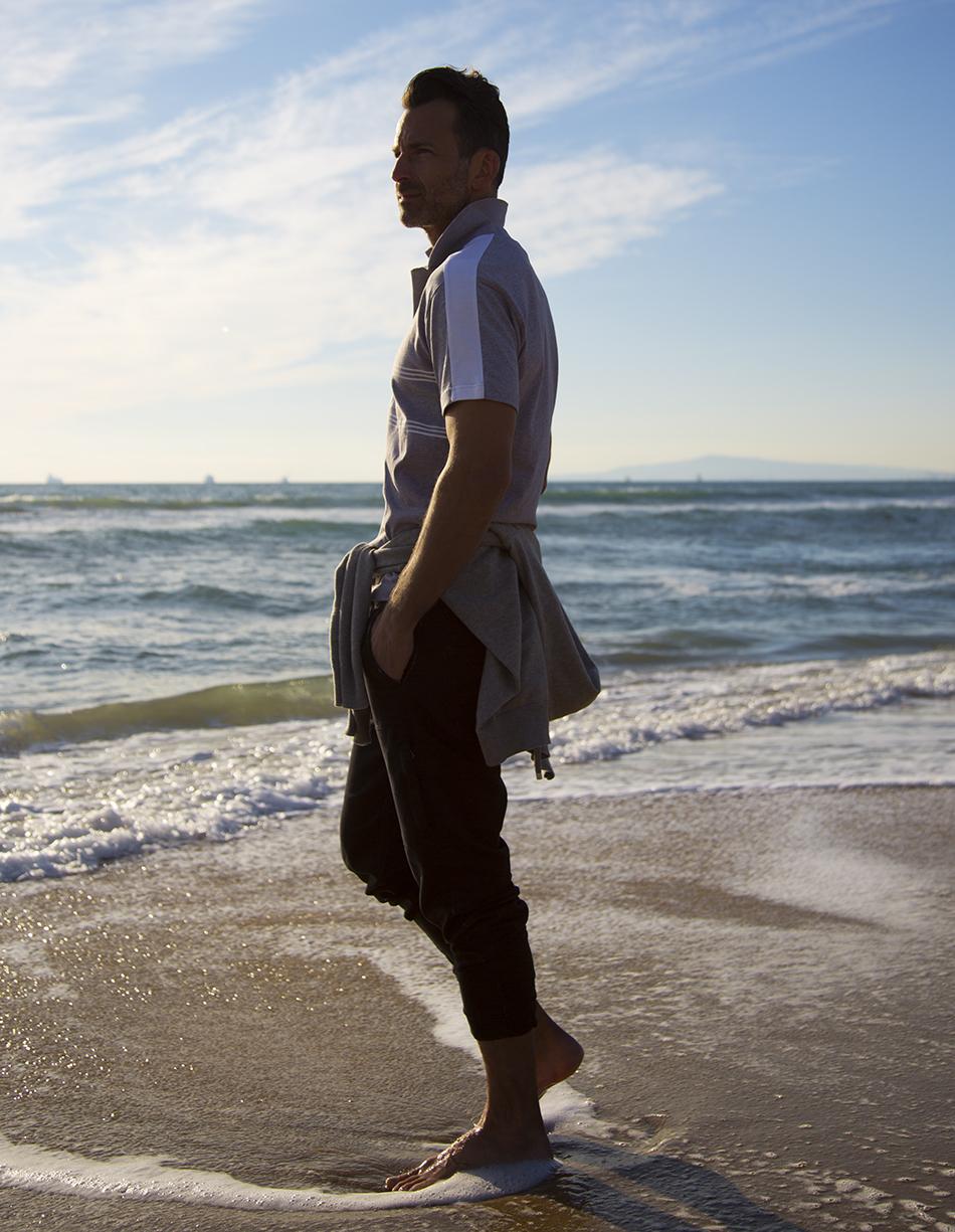 Polo & Sweater: Kenzo Paris Pants: Dish/Duer
