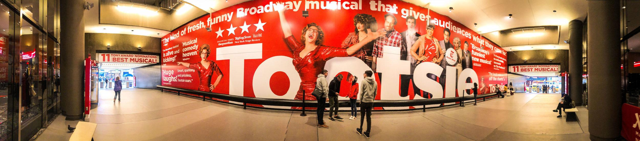Tootsie Advertisement Broadway.jpg